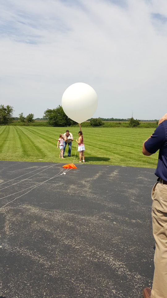 radiosonde launch